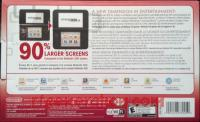 Nintendo 3DS XL Red/Black Box Back 200px