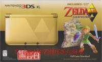 Nintendo 3DS XL The Legend of Zelda: A Link Between Worlds Bundle Box Front 200px