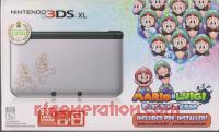 Nintendo 3DS XL Silver Mario & Luigi Edition Box Front 200px
