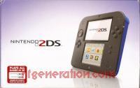 Nintendo 2DS Electric Blue Box Front 200px