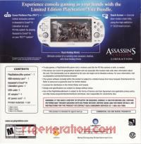 Sony PS Vita Assassin's Creed III: Liberation Limited Edition Crystal White WiFi Model Box Back 200px