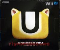Nintendo Wii U Super Mario 3D World Deluxe Set Box Back 200px