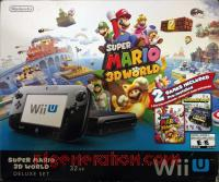 Nintendo Wii U Super Mario 3D World Deluxe Set Box Front 200px
