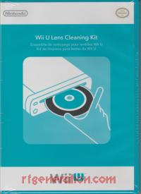 Wii U Lens Cleaning Kit  Box Front 200px