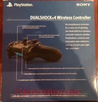 DualShock 4 Controller Jet Black Box Back 200px