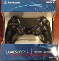 DualShock 4 Controller Jet Black Box Front 200px
