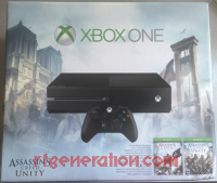 Microsoft Xbox One Assassin's Creed Unity Bundle Box Front 200px