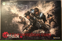 Microsoft Xbox One S Gears of War 4 Limited Edition Bundle - 2 TB Box Back 200px