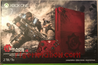 Microsoft Xbox One S Gears of War 4 Limited Edition Bundle - 2 TB Box Front 200px