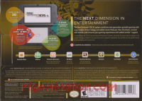 new Nintendo 3DS XL Majora's Mask Edition Box Back 200px