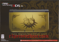 new Nintendo 3DS XL Majora's Mask Edition Box Front 200px