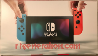 Nintendo Switch Neon Red / Neon Blue Joy-Con Box Back 200px