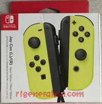 Joy-Con (L) / (R) Neon Yellow Box Front 200px