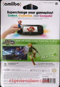 Amiibo: Super Smash Bros.: Link  Box Back 200px