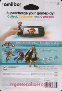 Amiibo: Super Smash Bros.: Marth  Box Back 200px