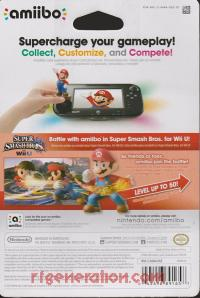 Amiibo: Super Smash Bros.: Mario  Box Back 200px