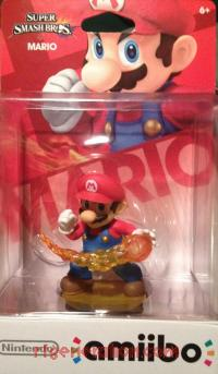 Amiibo: Super Smash Bros.: Mario  Box Front 200px