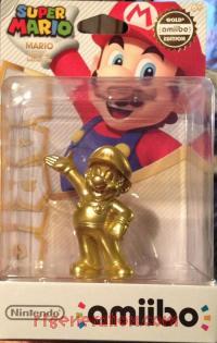 Amiibo: Super Mario Bros.: Mario Gold Box Front 200px