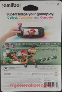 Amiibo: Super Smash Bros.: Little Mac  Box Back 200px