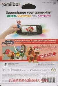 Amiibo: Super Smash Bros.: Diddy Kong  Box Back 200px