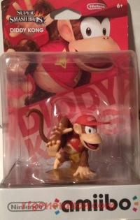 Amiibo: Super Smash Bros.: Diddy Kong  Box Front 200px
