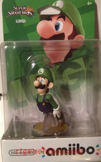 Amiibo: Super Smash Bros.: Luigi  Box Front 200px