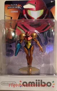 Amiibo: Super Smash Bros.: Samus  Box Front 200px