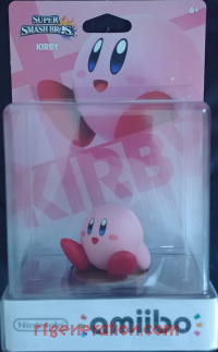 Amiibo: Super Smash Bros.: Kirby  Box Front 200px