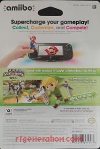 Amiibo: Super Smash Bros.: Toon Link  Box Back 200px