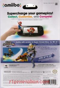 Amiibo: Super Smash Bros.: Sheik  Box Back 200px