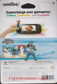 Amiibo: Super Smash Bros.: Lucario  Box Back 200px