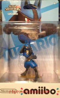 Amiibo: Super Smash Bros.: Lucario  Box Front 200px