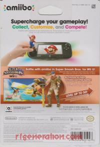 Amiibo: Super Smash Bros.: Ike  Box Back 200px