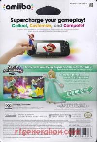 Amiibo: Super Smash Bros.: Rosalina  Box Back 200px