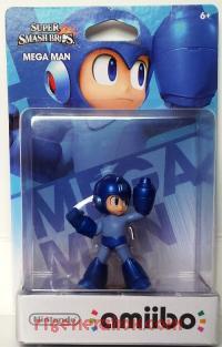 Amiibo: Super Smash Bros.: Mega Man  Box Front 200px