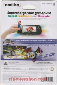 Amiibo: Super Smash Bros.: Meta Knight  Box Back 200px