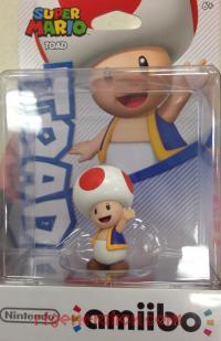 Amiibo: Super Mario Bros.: Toad  Box Front 200px
