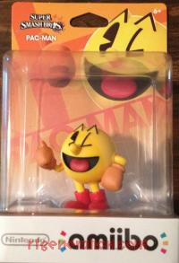 Amiibo: Super Smash Bros.: Pac-Man  Box Front 200px