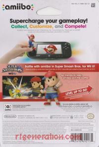 Amiibo: Super Smash Bros.: Ness  Box Back 200px