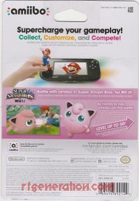 Amiibo: Super Smash Bros.: Jigglypuff  Box Back 200px