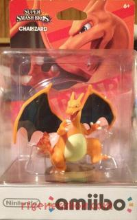 Amiibo: Super Smash Bros.: Charizard  Box Front 200px