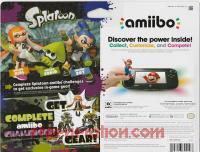 Amiibo: Splatoon 3-Pack  Box Back 200px