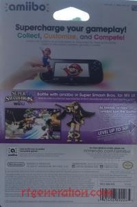 Amiibo: Super Smash Bros.: Dark Pit  Box Back 200px