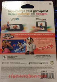 Amiibo: Super Smash Bros.: Dr. Mario  Box Back 200px
