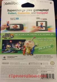 Amiibo: Super Smash Bros.: Olimar  Box Back 200px