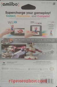 Amiibo: Super Smash Bros.: R.O.B. Famicom Colors Box Back 200px