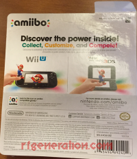 Amiibo: Chibi-Robo!: Chibi-Robo Small Packaging Box Back 200px