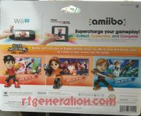 Amiibo: Super Smash Bros. Mii Fighter 3-Pack  Box Back 200px