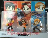 Amiibo: Super Smash Bros. Mii Fighter 3-Pack  Box Front 200px