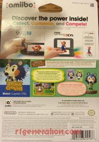 Amiibo: Animal Crossing: Mabel  Box Back 200px